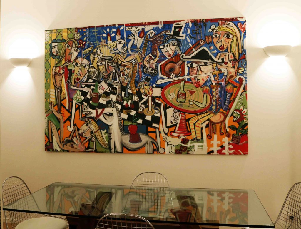 hand painted artwork-modern art-alessandro siviglia