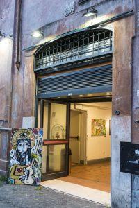 art exhibition at palazzo velli rome italy