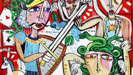 original modern painting sicilian origins-alessandro siviglia