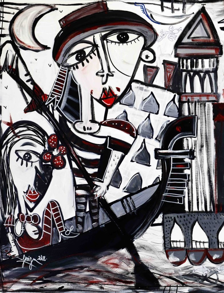100x200-Super-Venice_painting_gondolier_bell_tower